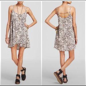 Intimately Free People Emily paisley slip dress M